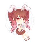 [GIFT] Bunny-chan by Jellypeach