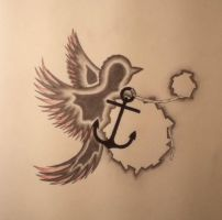 Bird and Anchor by RevoltingArts