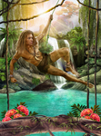 Harry as King of the Jungle by ricciella