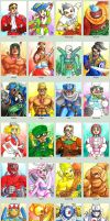 Sketchcard Power Stone Collection by fedde