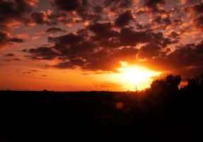 Sunset Over St. Augustine 4 by ErinM2000