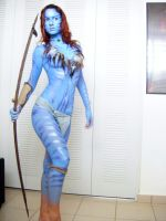 Neytiri full makeup test by AmyFantasea