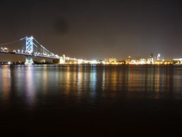 Benjamin Franklin Bridge 2 by raindroppe