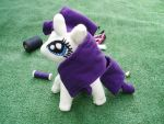 Rarity plushie by WitchBehindTheBush