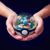 Manaphy - Poke Ball Terrarium by TheVintageRealm
