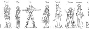 Heroes of Tamriel by StyxTheMad