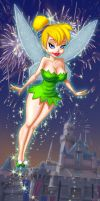 Tinker Bell Fireworks by LoudNoises