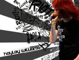hayley Williams wallpapper by anarkoBO1