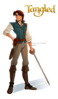 Tangled - Flynn by Katikut