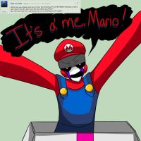 Ask Marion #1- Mario by EverStarcatcher