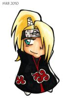 Deidara Chibi by IndyScribbable