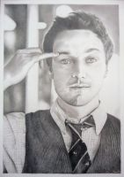 James McAvoy - X-Men First Class by ginas-cakes