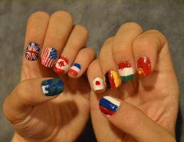 Worldly Nails by Singing-Wolf-12