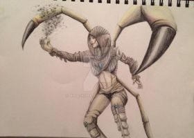 D'Vorah my love from MortalKombatX by NinaSkunk