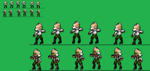 Fox mcloud idle right and left wip by zacharyleebrown