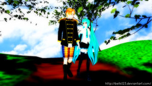 MMD:. I'm having Lots of fun With you America by bells123