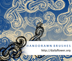 Handrawn swirls s by creativesplash