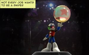 Joe Clown by UnexpectedToy