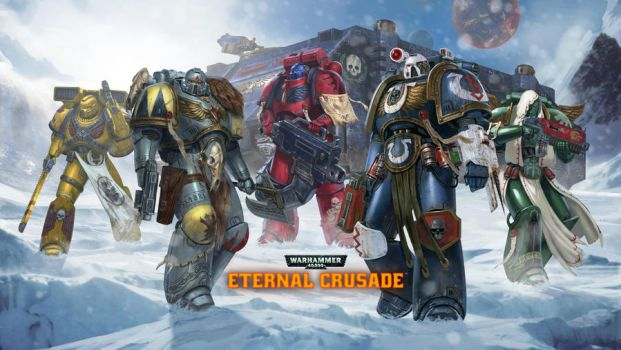 Eternal Crusade-Space Marines by DiegoGisbertLlorens