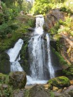 Waterfall in Triberg by Sany95