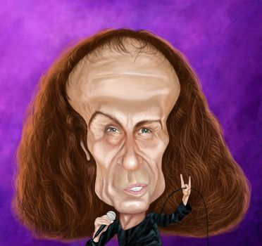 Ronnie James Dio by Prestegui