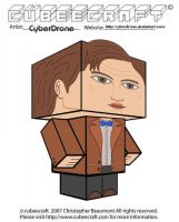 Cubeecraft- 11th Doctor 'Ver2' by CyberDrone