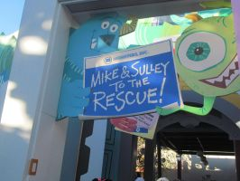 Monsters, Inc. Mike and Sulley to the Rescue! by BigMac1212