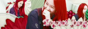 [CoverZing] Krystal Jung - with Red Hair by lapep999