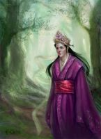 Lost princess - New version by IcedWingsArt