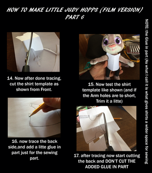 How to make Little Judy Film version part 6 by EJLightning007arts