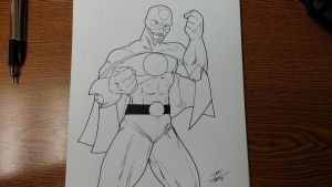[WIP] Eco-Man - The Inked Version by sonicadventurer