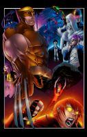 Wolverine and the X-men by tas1138