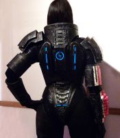 Commander Shepard Cosplay  Work in Progress by Evil-Siren