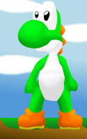 3D-ish shading attempt by yoshi888