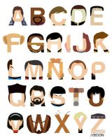 Star Trek Alphabet by mbaboon