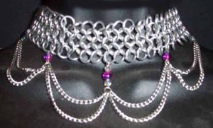 Industrial Chain Choker by enchantress13
