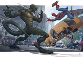 The Amazing Spiderman Concept Art by CaptainSomething