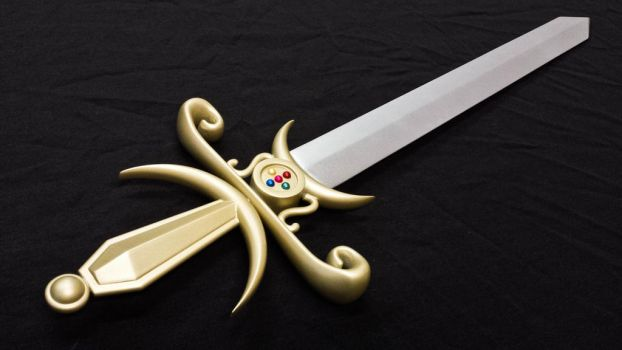 Sword of the Silver Crystal from Sailor Moon by GS-PROPS