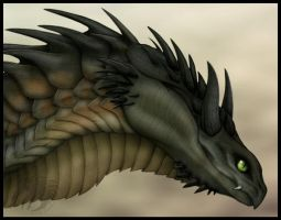 Spiky Dragon by Gul-reth