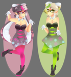 Callie and Marie by Princess-Rosalie97