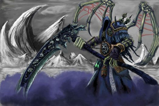 Death reaper form by chimicalstar