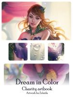 Dream in Flora: charity artbook preview by Zolaida