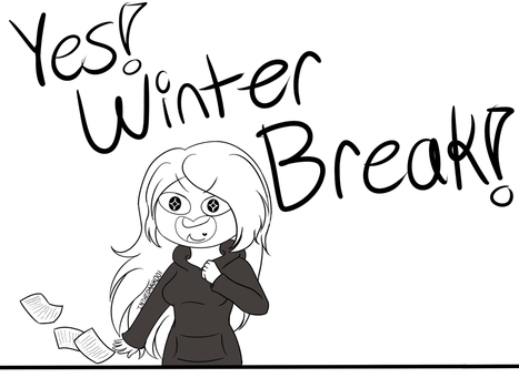 Winter Break!! by INTHEDARK001