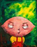 Stewie from Family Guy by Fruksion