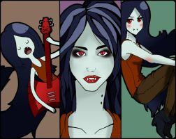 Adventure Time: The Lovely Marceline by UltraPunkNERD