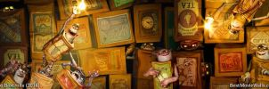 The Boxtrolls BestMovieWalls dual01 by BestMovieWalls