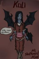 the sixth of six: Kali the Vampire... by This-Shattered-Mind