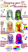BASICS | Designing your OC : Do's and Don'ts by emilkun