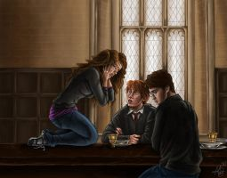 Hermione's Apology by ReddEra