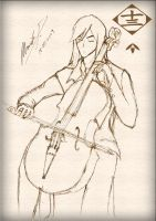 Ukitake - Cello by talespirit